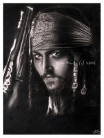 captain jack sparrow by jovee