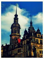 Dresden, Theaterplatz by TheAppleScientist