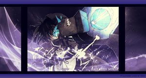 Black Rock Shooter Wallpaper by xChiiiiiiii