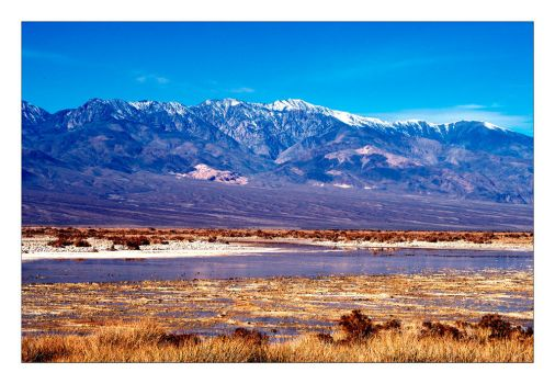 Panamint Mountains by jmm