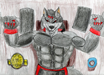 Lycan in the Gym by MoonlightStrider