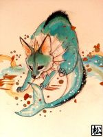 Vaporeon by PokeShoppe