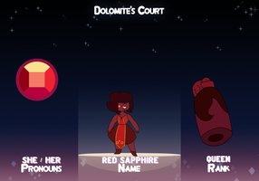 Red Sapphire - Dolomite's Court by sofia68999