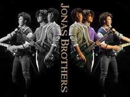 Jonas Brothers Wallpaper 2 by Meeltje2951