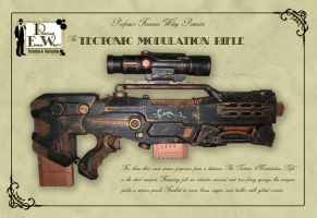 The Tectonic Modulation Rifle by davincisghost