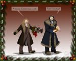 A Hobbit Christmas Carol by wolfanita