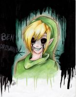 Ben Drowned by alex-la-eriza