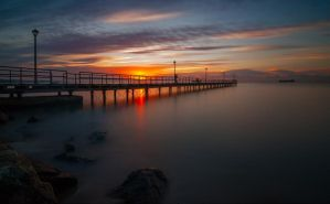 At the sunrise by hateom