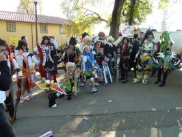Elsword group cosplay Lucca 2015 by LilituhCosplay