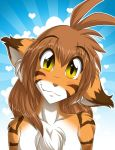 A Portrait of Flora by Twokinds
