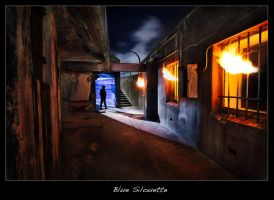 Blue Silouette by brentbat
