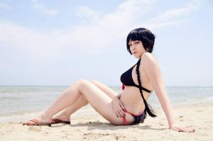 Zone-00 Mayoko Okino bikini by dani-foca