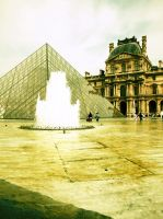 Le Musee du Louvre by picturework-memory
