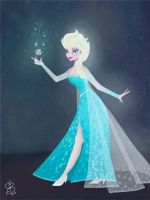 Elsa by geekyartistgirl