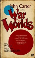 John Carter and the War of the Worlds - book cover by Ptrope