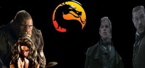 Motal Kombat Edward and Thale vs. Brothers Grimm by SteveIrwinFan96