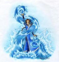 Katara by animeartist67