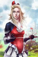 Edea Lee by chitobein