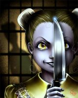 Yellow Cursed Doll by Philiera