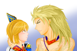 DW7 : Don't cry, lad. by Violet-Tarita