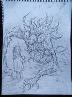 Only A Bad Dream - Original Sketch by Eemeling