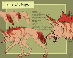 new species diu vulpes by Velkss