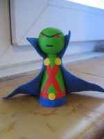 Cones: Martian Manhunter by Poison-Harley