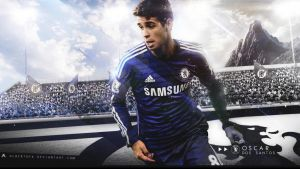 Oscar dos Santos 2014/15 Wallpaper by AlbertGFX