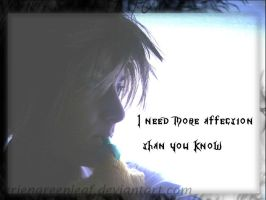 I need more affection by ArienGreenleaf