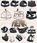 Henk the Stone - Reference sheet by MarkProductions