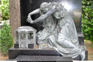 Stock: cemetery sculpture 3 by elisafox-stock