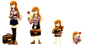 Request: Asuna Age Regression by RedRook96