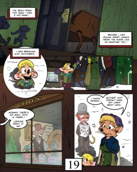 Keeping Up with Thursday, Issue 1, page 19 by BestHeelofAllTime