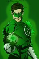Green Lantern by portfan