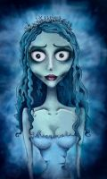 Tim Burton's Corpse Bride by Heldys