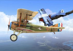 Spad XIII by QuentinR