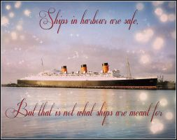 Ships in Harbour - Quote by RMS-OLYMPIC