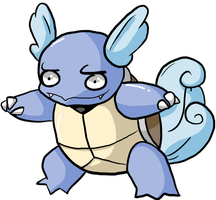 That's an odd Wartortle... by JellyTheTangrowth