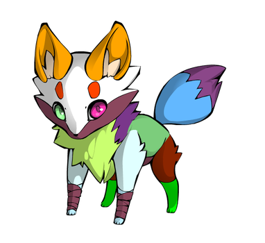 60 points Fox Adoptable (OPEN) by MLPFIMFans2006