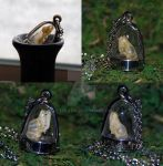 Bat Skull Sepulcher Lockets by kittykat01