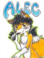 Alec Badge Commission by ImaginaryFox