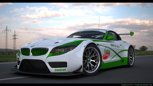 BMW Z4 GT3 Custom Castrol racing 2 by RJamp
