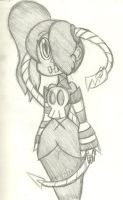 Wiggly Squigly by InFAMOUS-Toons