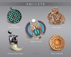 Amulets by AgentK19