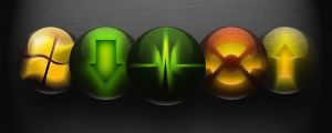 Glowing App Icons by Synt0xx