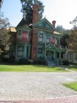 Victorian house colorful by SAPOMstockxtras
