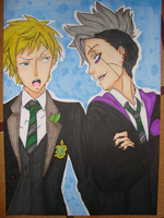 Edward and Cheslock by Gilouw