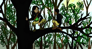 Katniss and Rue - The Plan by TreesONature777
