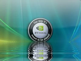nvidia Vista Aurora on water by MJCSD