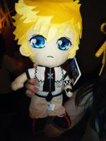Roxas Plushie by LordChao101